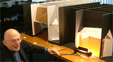 Seattle LMN architect and renowned acoustician, Cyril Harris.