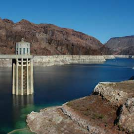 Photo of Lake Mead at Hoover Dam