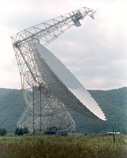 Photo of the Green Bank Telescope