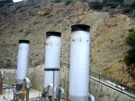 Photo of the Point Loma Wastewater Treatment Plant