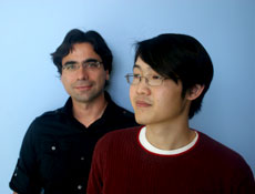 Photo of Nuno Bandeira (left) and Julio Ng (right)