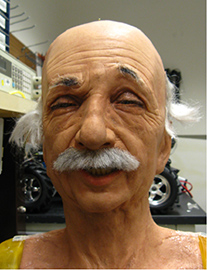 Photo of Einstein Robot