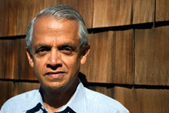 Photo of Scripps climate and atmospheric scientist V. Ramanathan