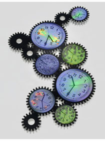 Photo of clock gears