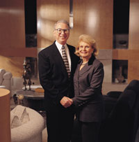 Photo of Joan and Irwin Jacobs