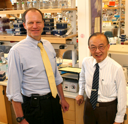 Photo of Davie Brenner and Shu Chien