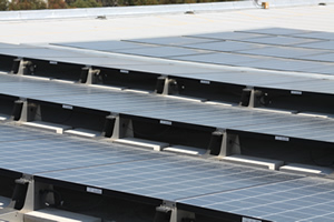 Solar Panels Keep Buildings Cool