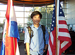 Dang Tan Duc at IEW Opening Reception (Photo / Victor W. Chen)