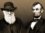 Image of Darwin and Lincoln