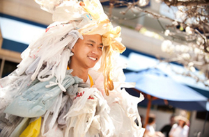 Plastic Bag Costume