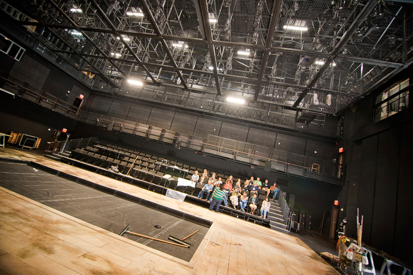 The La Jolla Playhouse tour included a walk through each of the three main theatres.