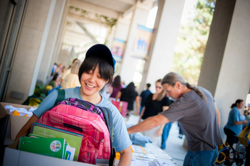 Staff could donate school supplies to benefit disadvantaged classrooms in San Diego County.