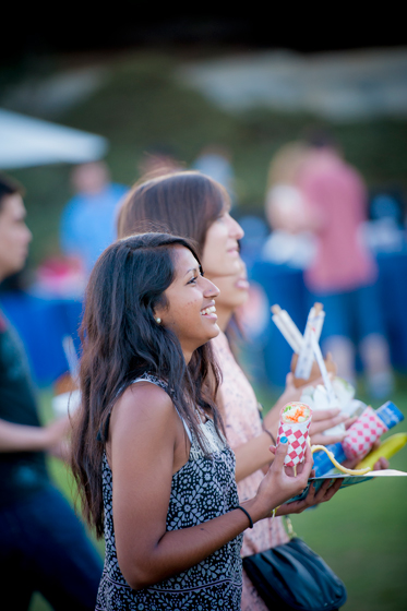 Dinner and ice cream were provided to all in attendance at the Welcome Convocation.