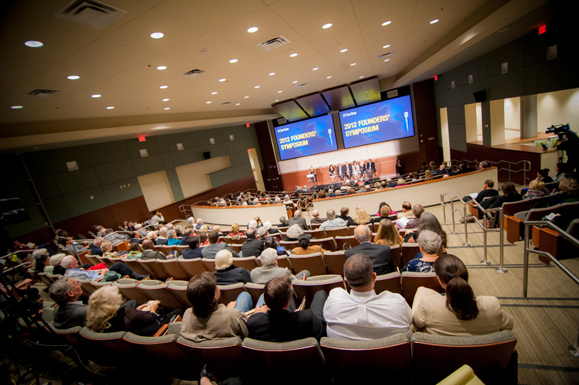 Innovative Researchers Share Ground-breaking Research with Packed House at Founders' Symposium