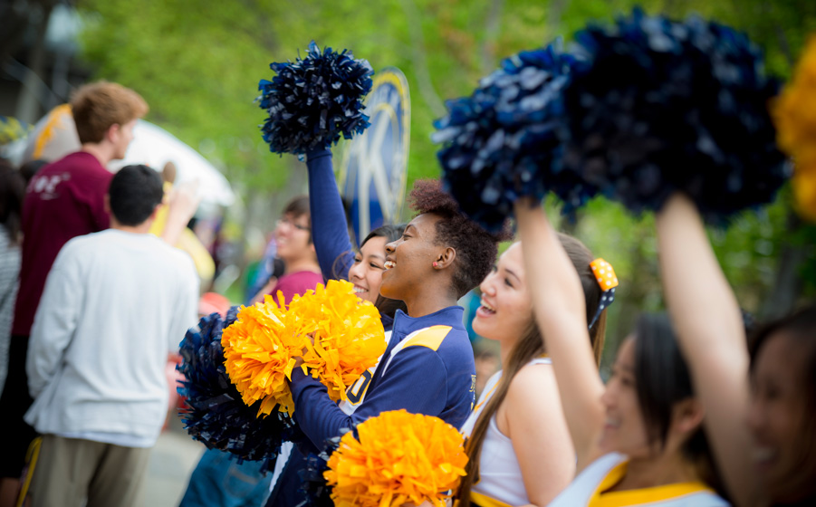 The Triton spirit was on display Saturday for the second annual Triton Day. The event drew a crowd of more than 20,000 guests.  <br><br>Photos by Erik Jepsen/UC San Diego Publications