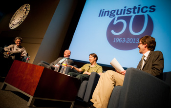 Linguistics' 50th anniversary panel on constructed languages