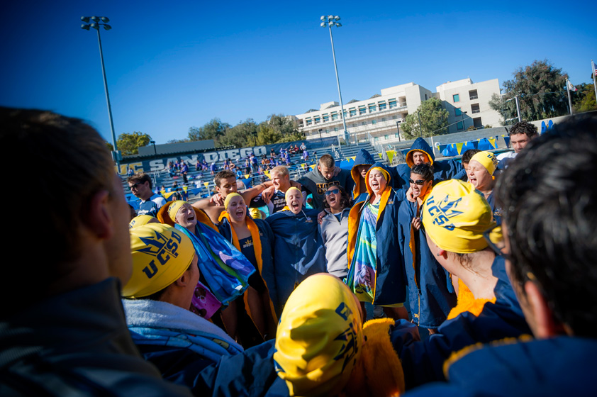 The UC San Diego men placed seventh and women placed third at the 2013 NCAA Division II Swimming & Diving Championships.