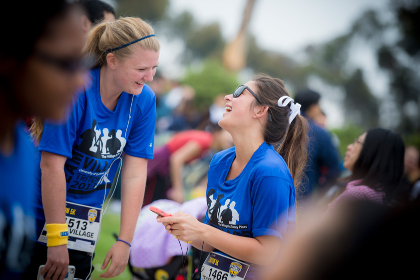 The race raised more than $300,000 for student scholarships.
