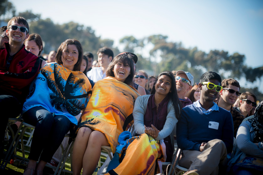 UC San Diego's commencement weekend kicked off with the university's sixth annual All Campus Graduation Celebration Friday.