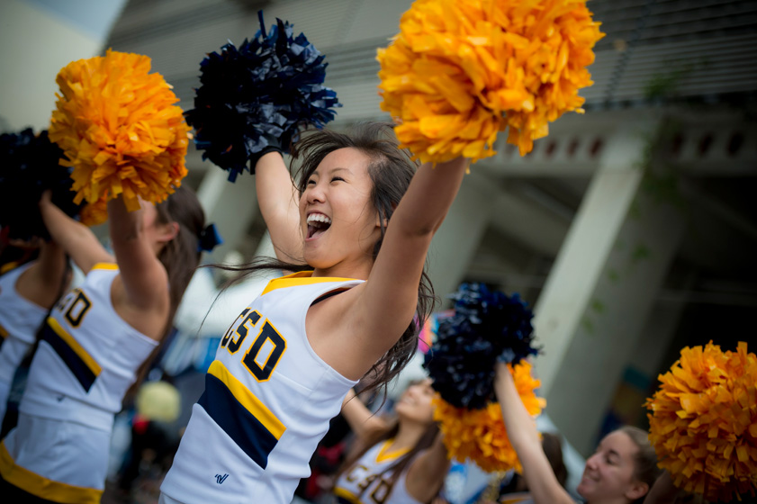 Founders' Day—held on Nov. 15 in Town Square—united the campus community in a celebration of UC San Diego's 53rd anniversary.<br><br>Photos by Erik Jepsen/UC San Diego Publications. Captions by Erika Johnson