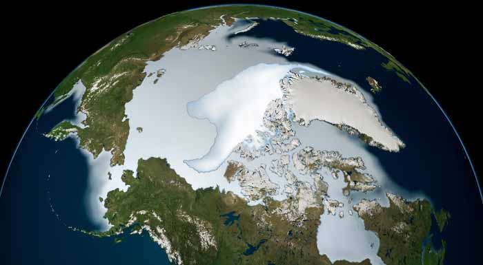 satellite data of melting arctic essay New kinds of satellite data and better computer modeling will provide crucial information to arctic ocean sea ice enthusiasts track arctic melt july 3.