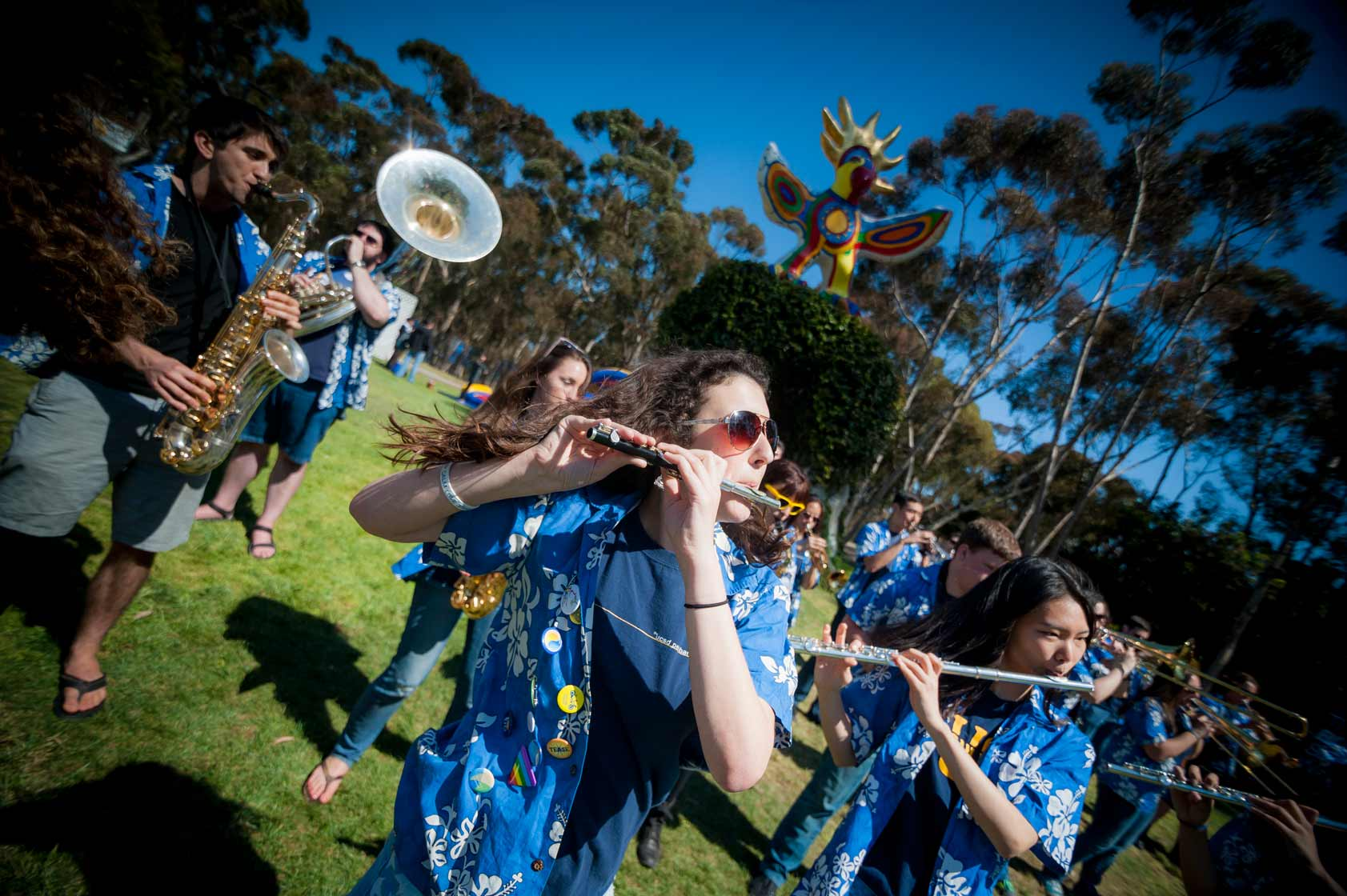 At the Triton Festival, admitted students were invited to connect with current students in a relaxed and social atmosphere. <br><br> Erik Jepsen/UC San Diego Publications