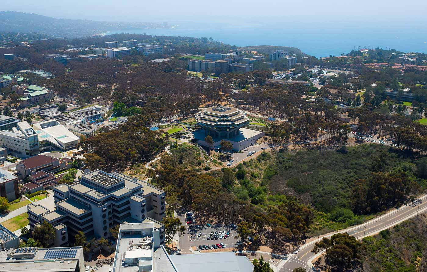 Image: The University of California, San Diego is ranked the 14th best university in the world for the third consecutive year.