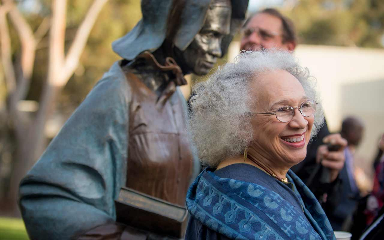 Marshall College Unveils New Sojourner Truth Statue