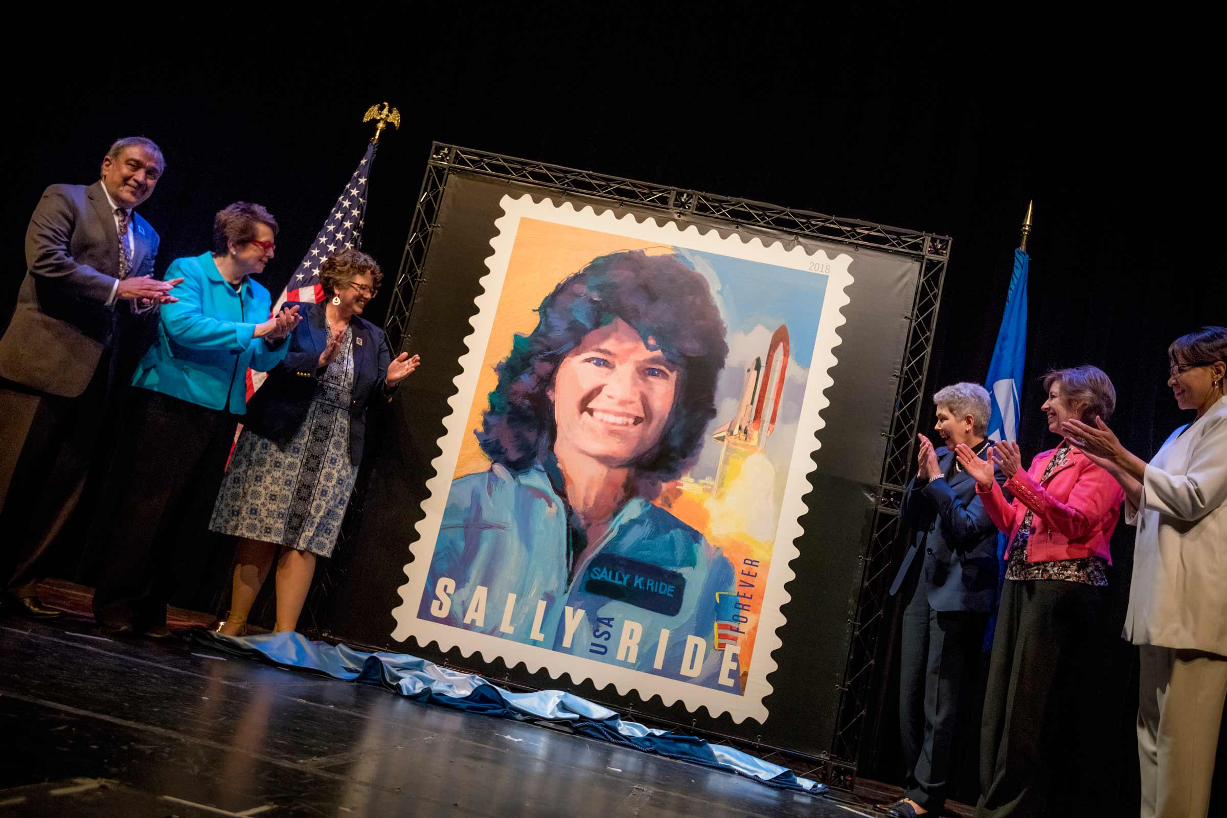 Sally Ride Stamp