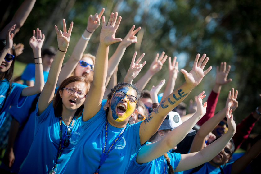 The Triton spirit was felt throughout UC San Diego as thousands of students turn out for Welcome Week.  <br><br>Photos by Erik Jepsen/UC San Diego Publications