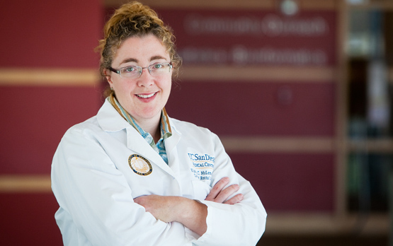 <p>Elisabeth McLemore, MD, colorectal surgeon at UC San Diego Health System and principal investigator of the study.</p>