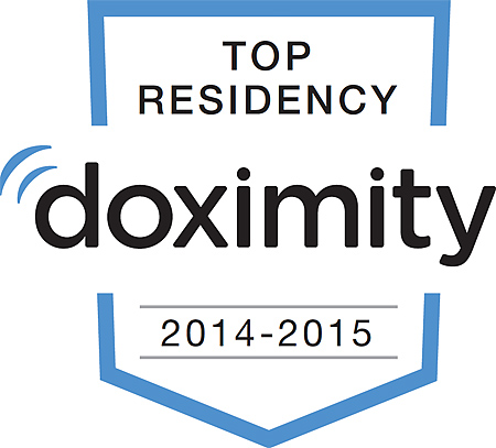 Image: doximity badge
