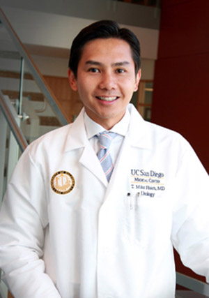 Photo: Mike Hsieh, MD, urologist, UC San Diego Health System