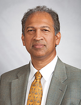 Image: Kumar Sharma, MD, professor of medicine