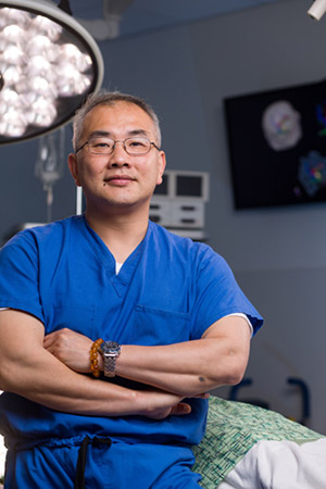 Image: Clark C. Chen, MD, PhD, vice chairman of research and academic development, Division of Neurosurgery, UC San Diego School of Medicine
