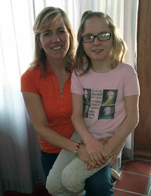 Image:Robyn first patient with Jacobsen syndrome