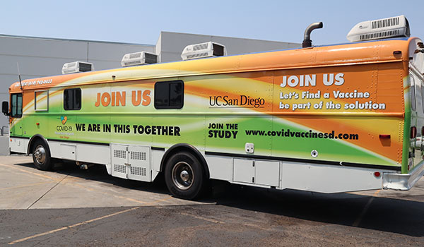 clinical trial bus