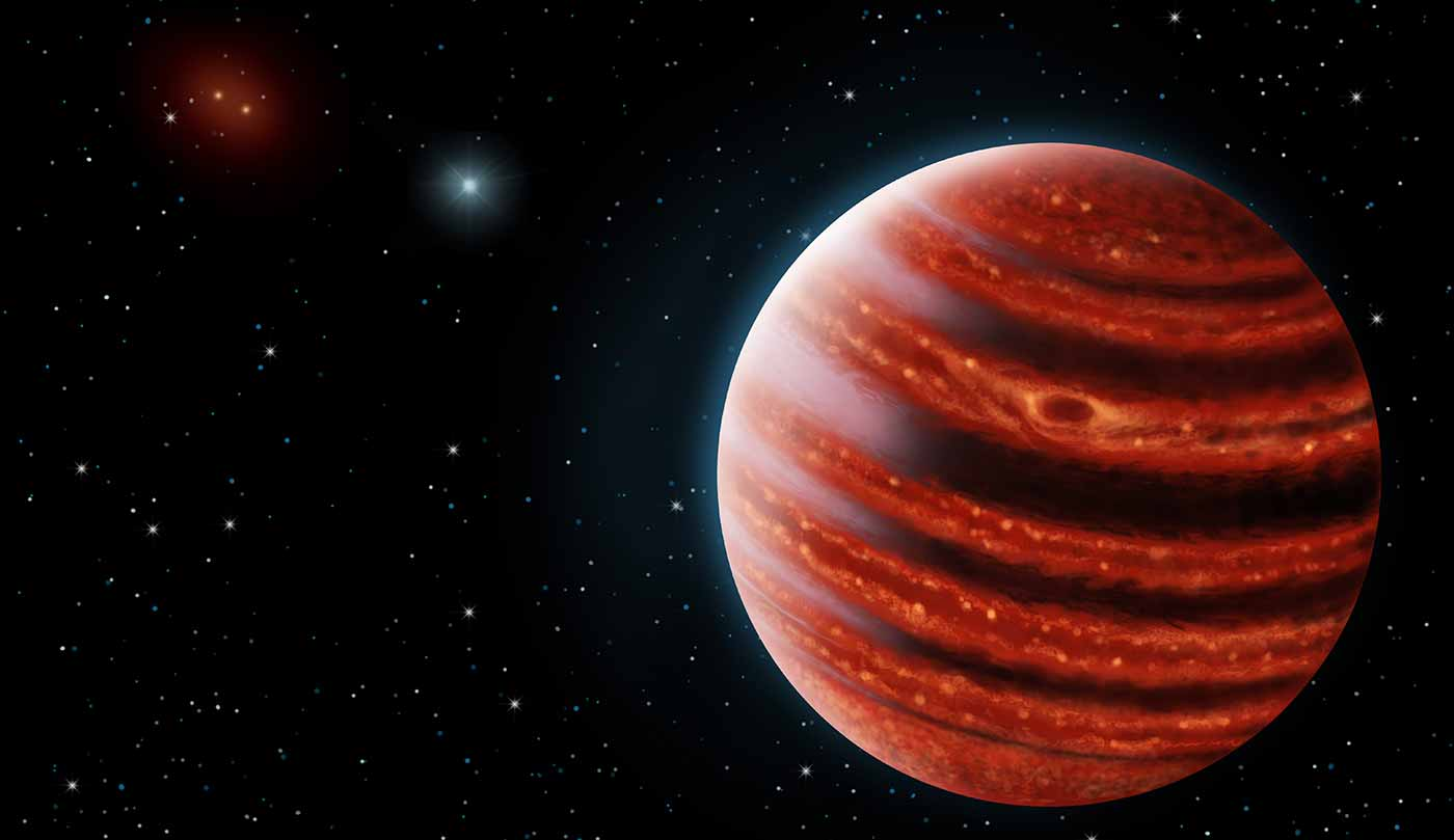 Astronomers Analyze the Atmosphere of a 'Young Jupiter ...