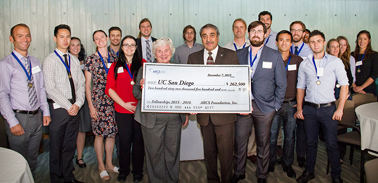 Image: ARCS Foundation San Diego chapter joined Chancellor Pradeep K. Khosla