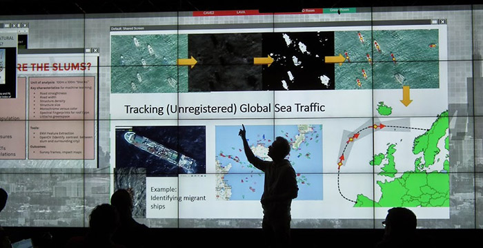 Photo: Tracking unregistered global sea traffic