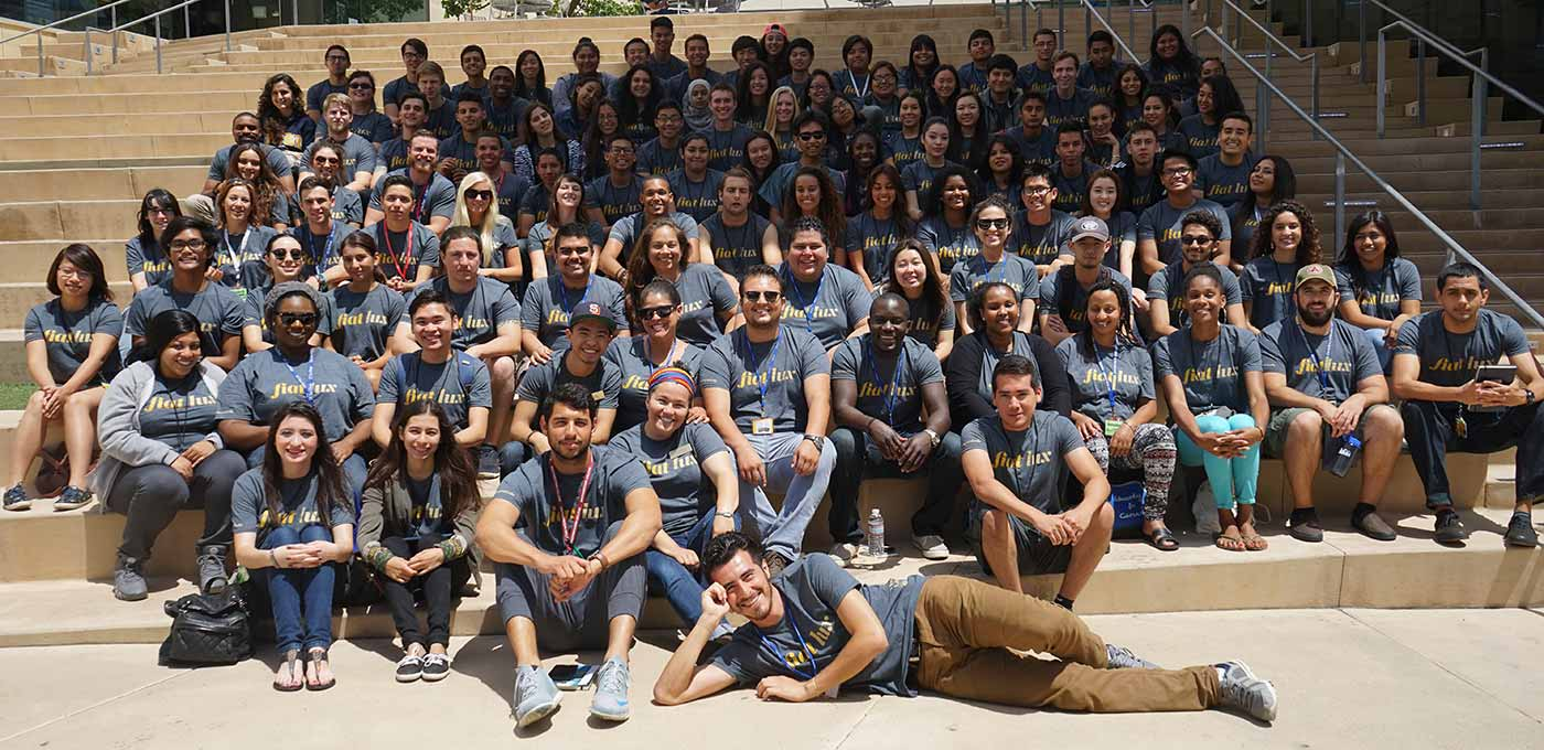 Image: UC San Diego Chancellor's Associates Scholarship Program took part in a three-day, two-night orientation