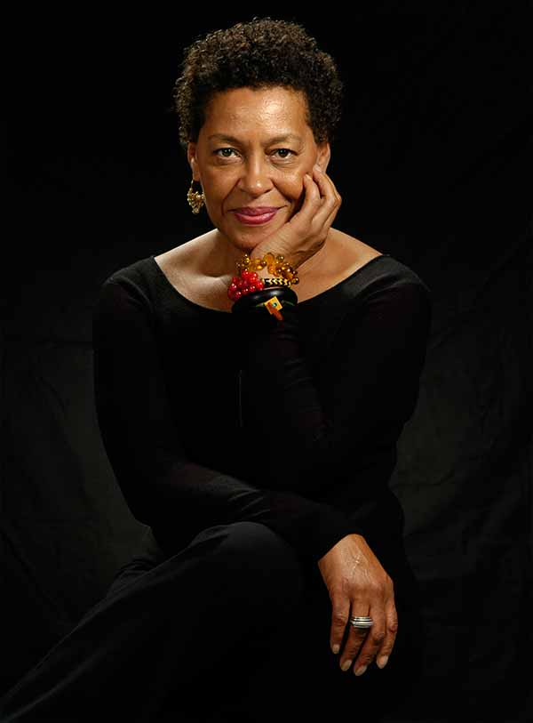 Image: Portrait of Carrie Mae Weems.