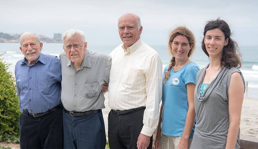 Image: Five 'generations' of ocean scientists