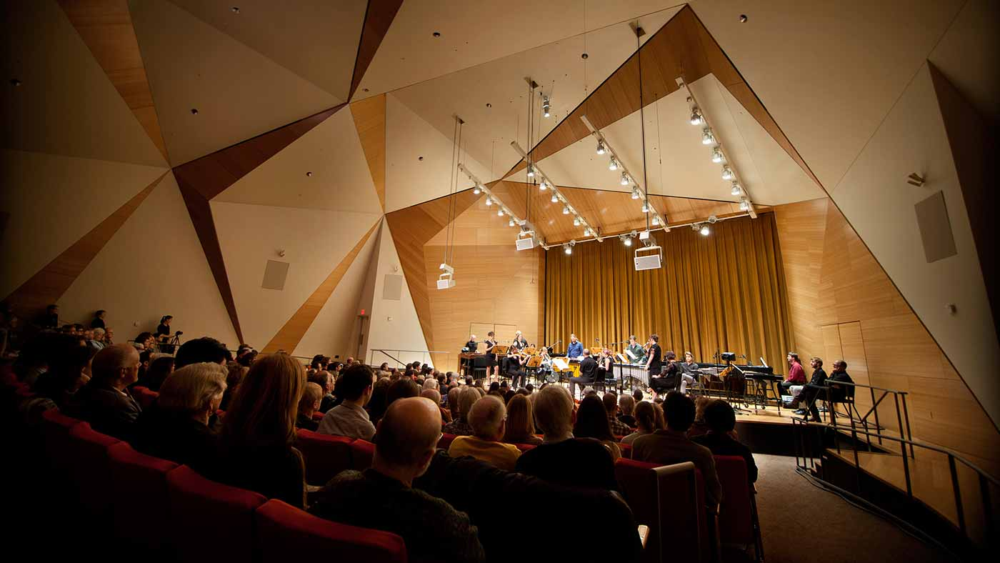 Photo: Conrad Prebys Concert Hall