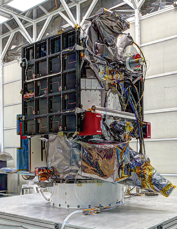 Photo: DSCOVR satellite