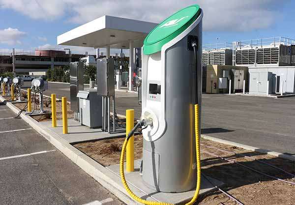 Image: EV chargers