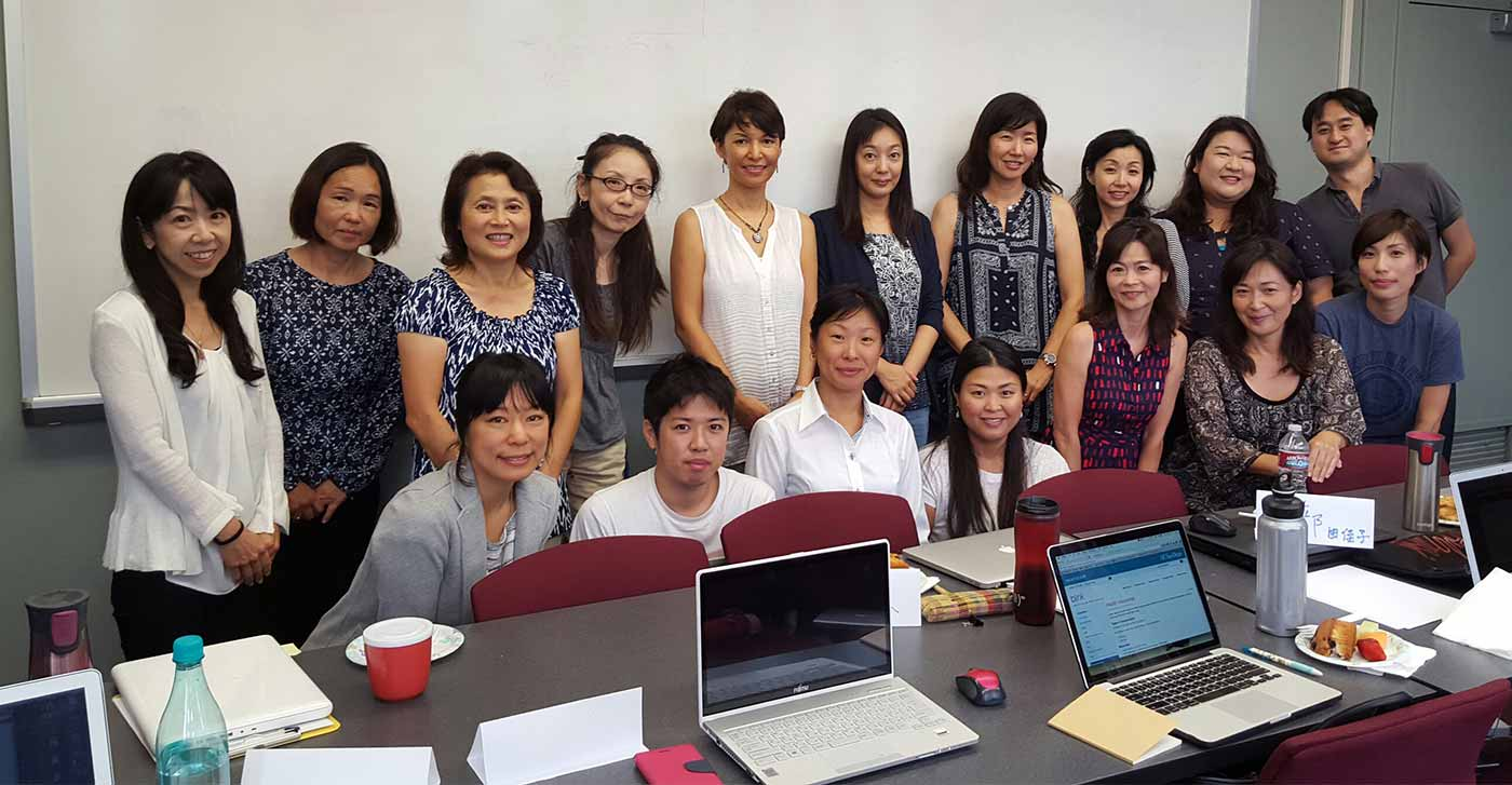 Image: Faculty and language instructors in the Japanese Studies program. Photo: Japanese Studies.