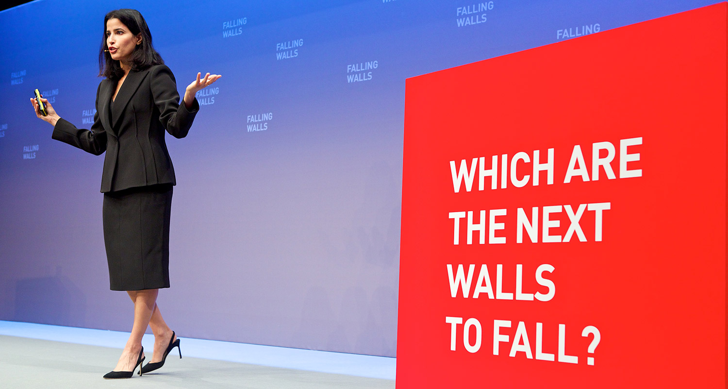 "Adah Almutairi at Berlin's ""Falling Walls"" Conference"