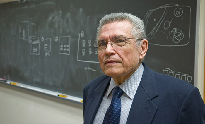 Photo: Francisco Valero, a Scripps Distinguished Research Scientist Emeritus