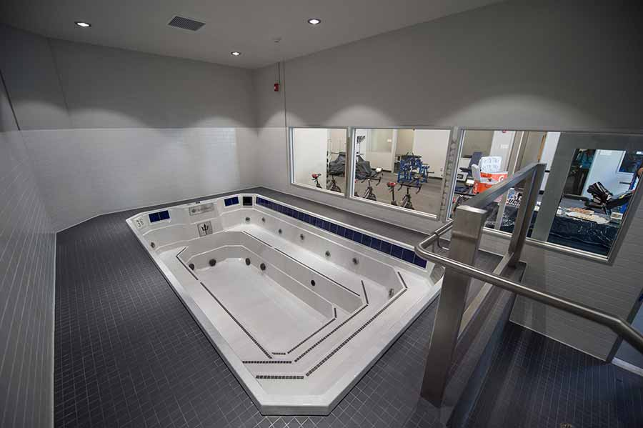 Image: UC San Diego's hydrotherapy room